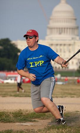 Softball on the Mall 7-22-09