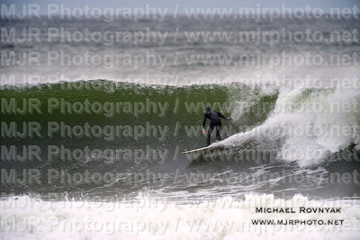 Surfing, L.B. West, NY, 10.28.12 SANDY PART 1