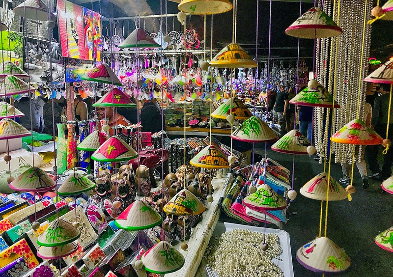 I love night markets...not so much for the shopping but for the colorful displays!  - Hoi An