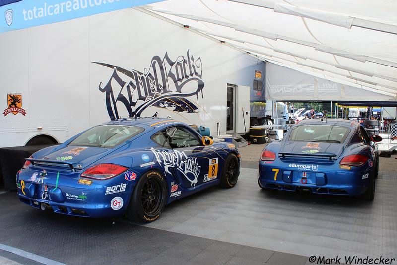 ST-Rebel Rock Racing Porsche Cayman