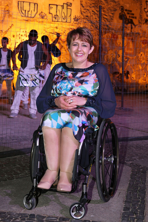 . Laureus Academy Member Tanni Grey - Thompson attends the Laureus Welcome Party at the Rio Scenarium during the 2013 Laureus World Sports Awards on March 10, 2013 in Rio de Janeiro, Brazil.  (Photo by Ian Walton/Getty Images For Laureus)