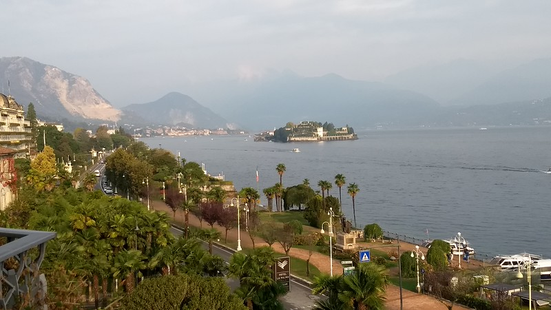 View from Hotel in Stresa