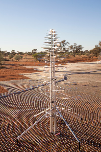 A SKALA antenna of the Aperture Array Verification System (AAVS) 1.5