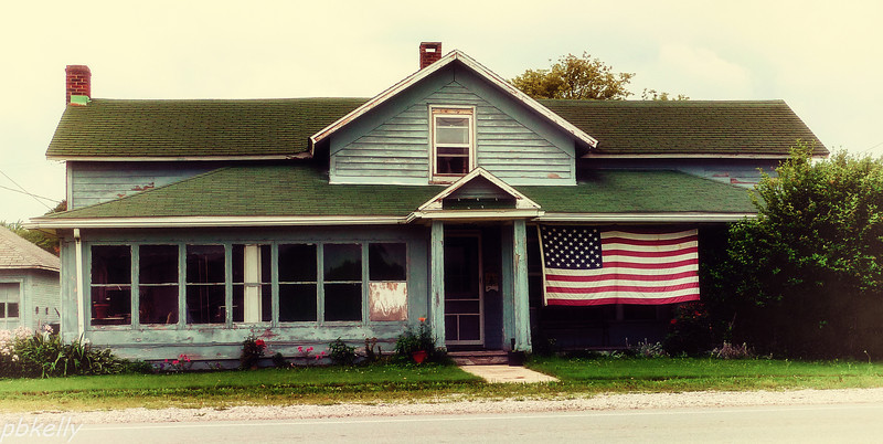 July 4.  Independence Day in Mid America.  Used some Nostalgia filters for this one.