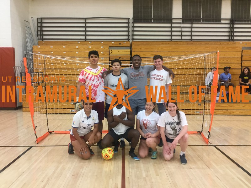 Spring 2018 Indoor Soccer Coed A Champion WAKANDA FC
