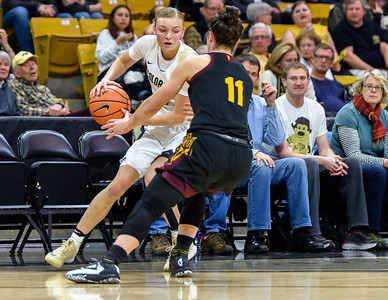 PAC12 - Women's Basketball - CU vs Arizona State - 20171229