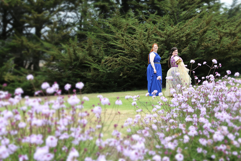 Dianne and Lizbet Married at Ragged Point