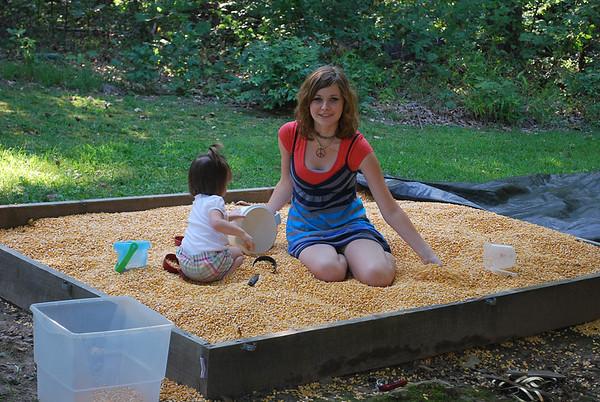 Corn Box - August 2009