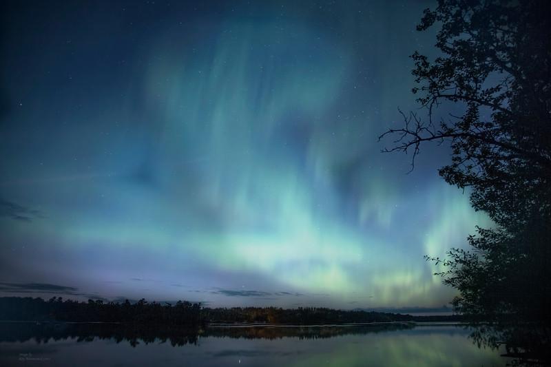 """""""Autumn Aurora On Fall #1"""""""