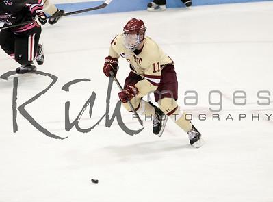 Pat Mullane January 19, 2013 at Northeastern University. Boston College wins 9-3.
