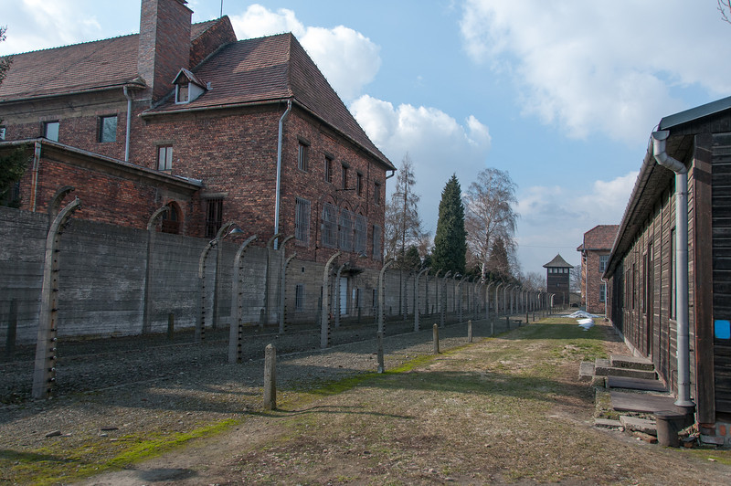 The site of Auschwitz Birkenau concentration camp - Krakow, Poland