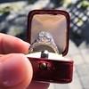 2.23ct Old European Cut Diamond Edwardian Solitaire GIA I VS1 10