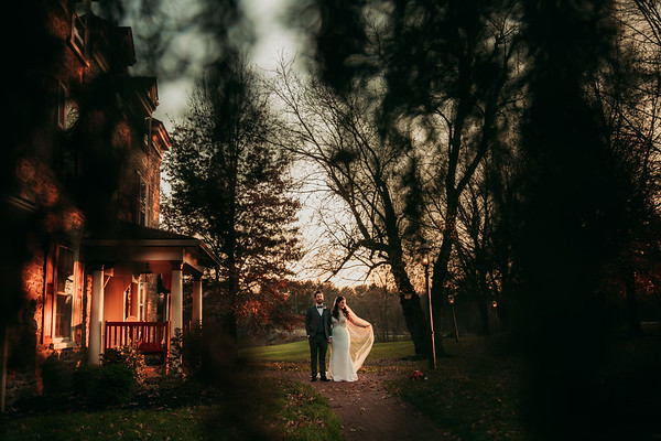Anna + Ian | Joseph Ambler Inn | 11.14.2020