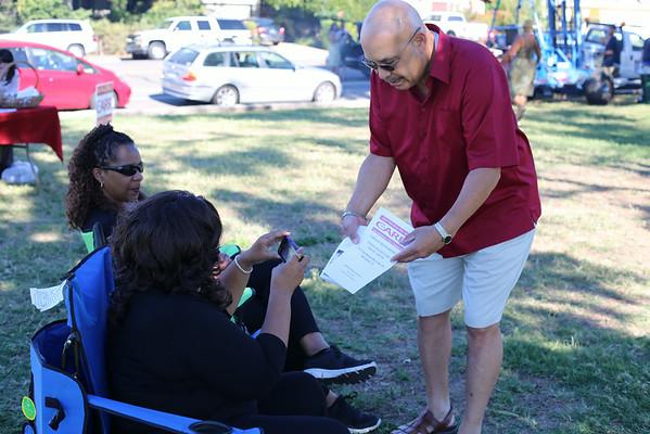 Larry Carr for City Council Member - Meadowview Park  8-17-2014