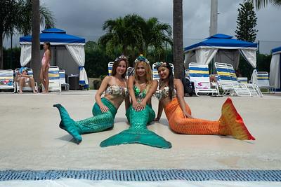 Aquamermaids at  Kidsfest