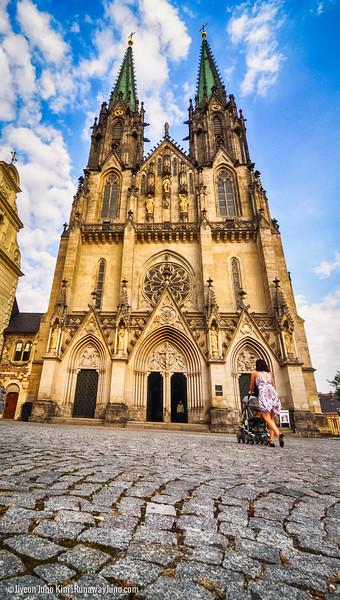 Saint Wenceslas Cathedral, Olomouc, Czech Republic