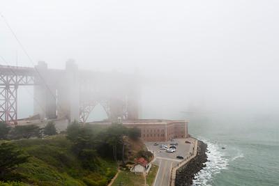 San Francisco Fort Mason, Crissy Field, Golden Gate Bridge 6/1/-2015