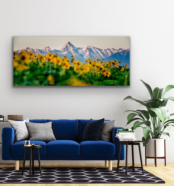 'From the Butte' Canvas Wrap