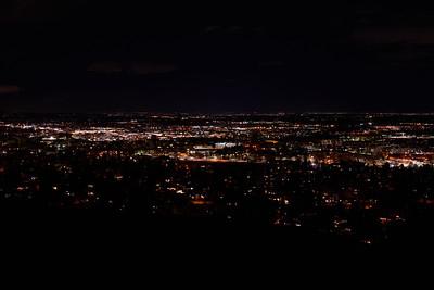 Kohler Mesa Trail Night Photos