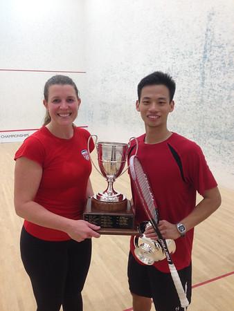 2014 U.S. Mixed Squash Doubles Championships