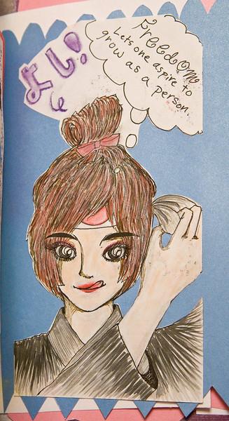 """Dina's """"Free"""" Page 4"""