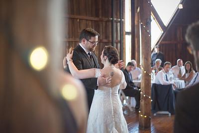 First Dance Reception-- Dana Ouellette & Matt LaMontagne Wedding-The Red Barn At Hampshire College Amherst, MA- New England Connecticut Massachusetts Wedding Photographer