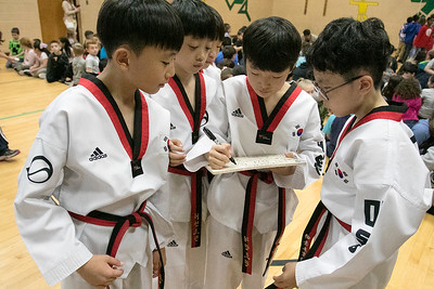 The Korean National Taekwondo Demo Team at Reingold, Oct. 8, 2019