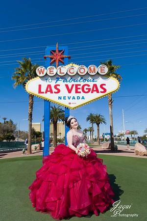 Las Vegas Quinceanera pictures