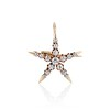 1.38ctw Victorian 5-Star Convertible Pin-Pendant 0