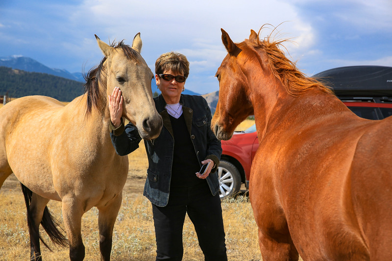 Maryann & the horses.jpg