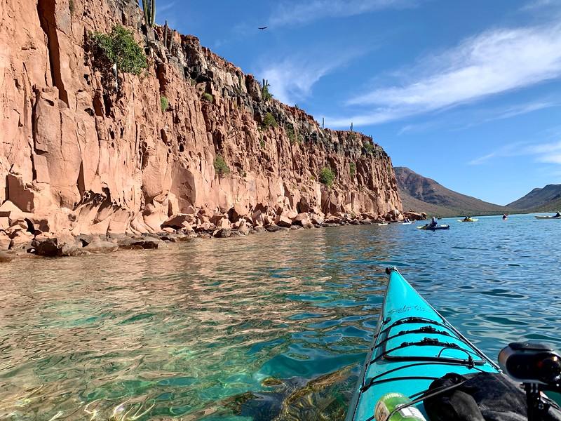 Sea Kayaking in La Paz Mexico