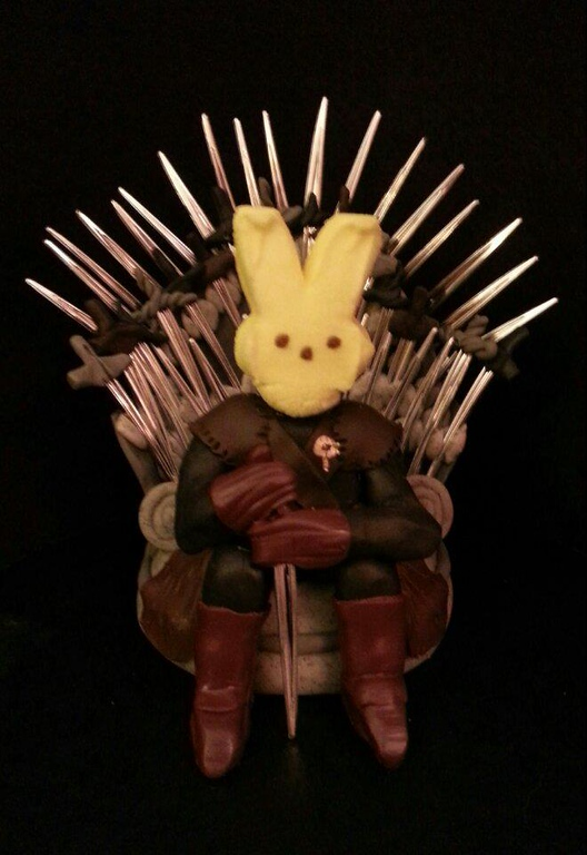 ". ""Game of Peeps,\"" by Natalie Losik, Brooklyn Center"