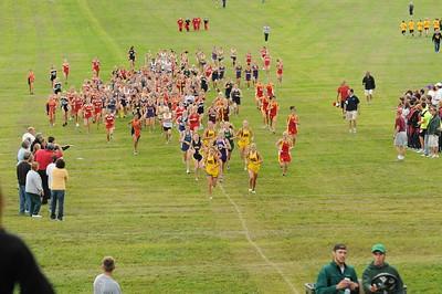 Girls AA Varsity Race