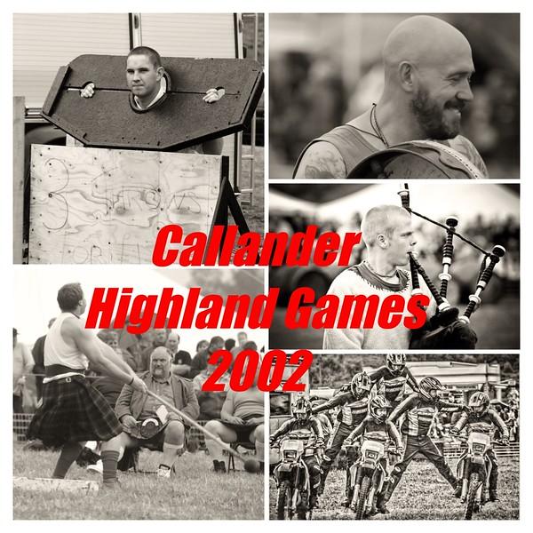 Callander Highland Games 2002