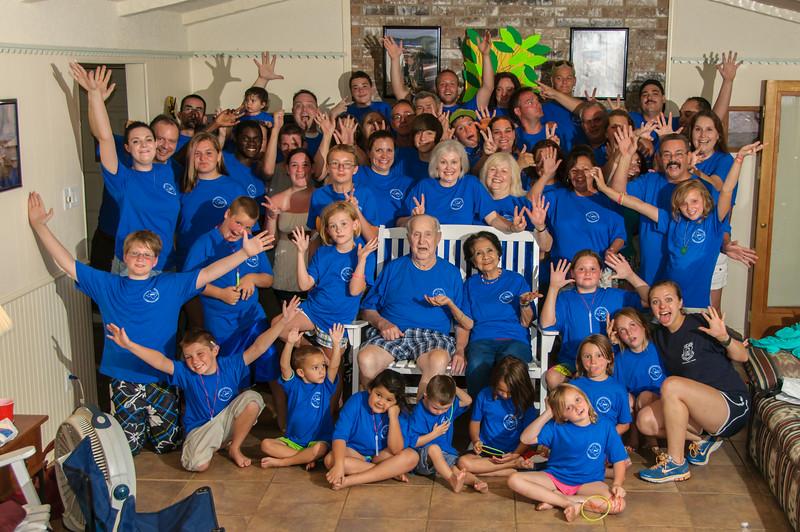 Walderon Family Reunion July 2012, Marble Falls, Texas