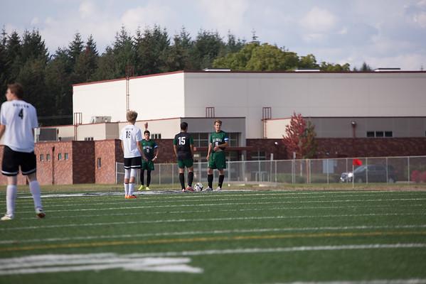 Varisty Soccer at Dayton