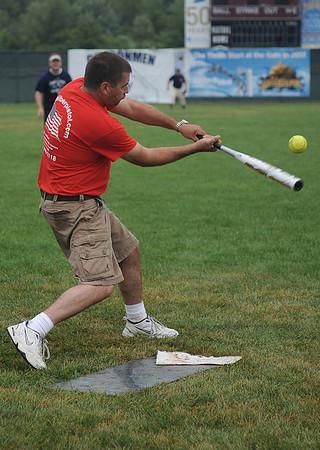 Republican versus Democrats Softball Match