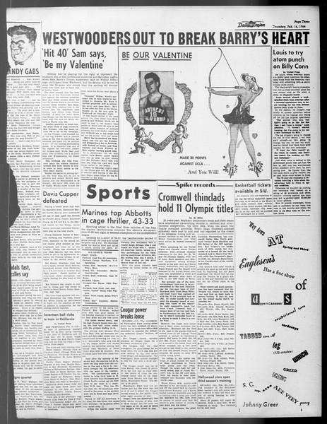 Daily Trojan, Vol. 37, No. 71, February 14, 1946