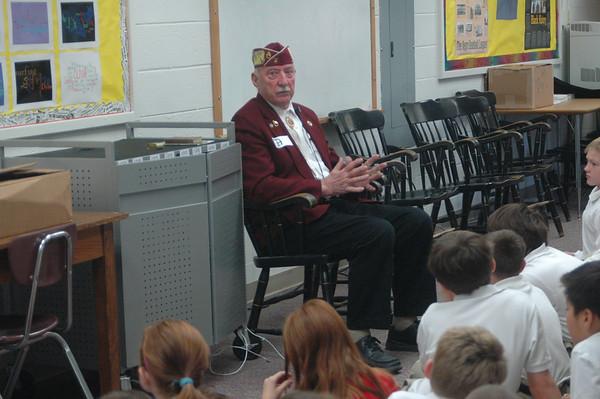 Mr. Hoff WWII POW Visit