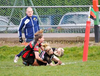 Women's AIL Cup Quarter Final 2015 Highfield v Old Belvedere