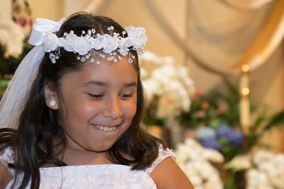 Mia's 1st Communion