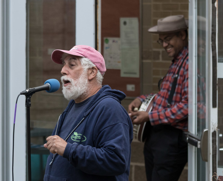 Bob Weiser and Dom Flemons