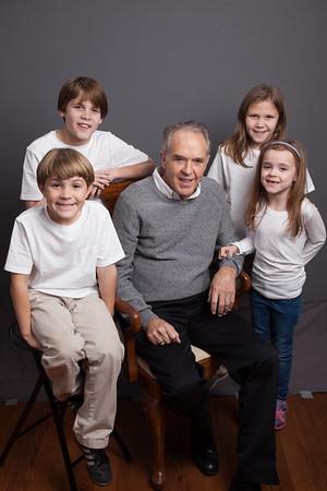 Nan Hazel and Grandchildren