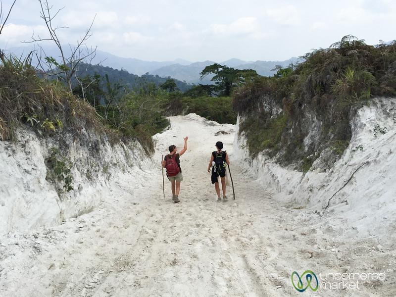 Day 1, Walking Through White Sand - Lost City Trek