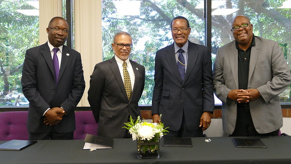 2018 MOU Signing with Ross University School of Medicine