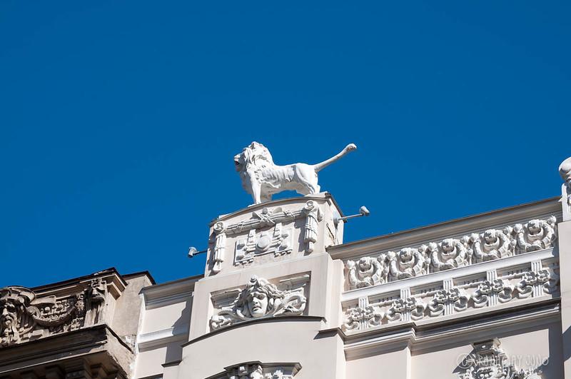 Art Nouveau at Alberta 4 the Lion