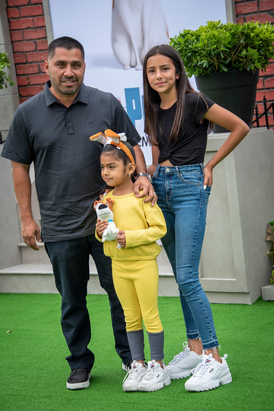 WESTWOOD, CALIFORNIA - JUNE 02: Jackie Hernandez' family attends the Premiere of Universal Pictures' 'The Secret Life Of Pets 2' at Regency Village Theatre on Sunday, June 02, 2019 in Westwood, California. (Photo by Tom Sorensen/Moovieboy Pictures)