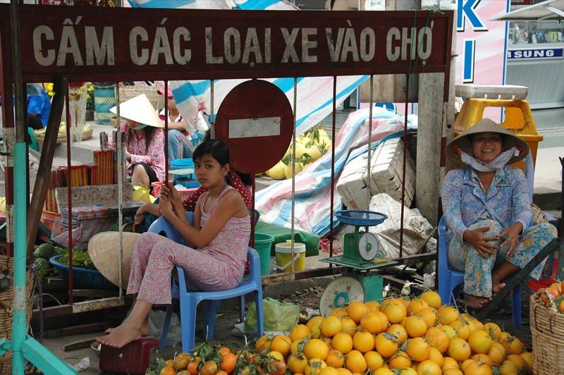 Mother and Daughter - Mekong Delta, Vietnam