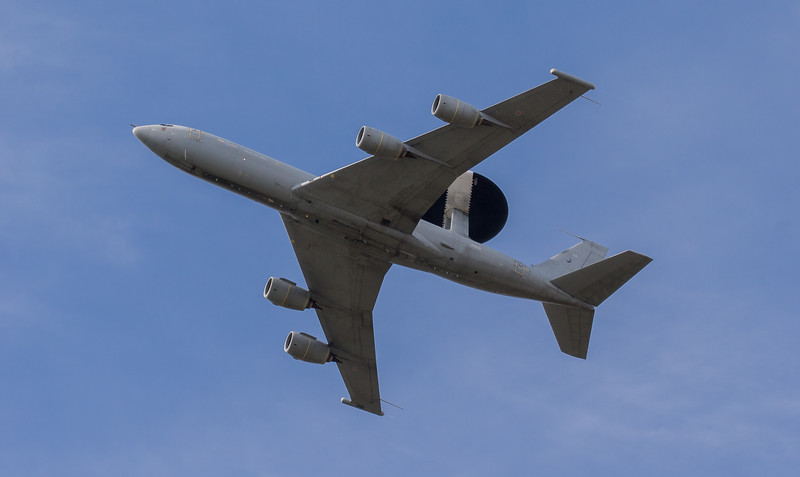 AWACS, Boeing, E-3, RAF, RAF Role Demonstration, RIAT 2007, Royal Air Force, Sentry, ZH105