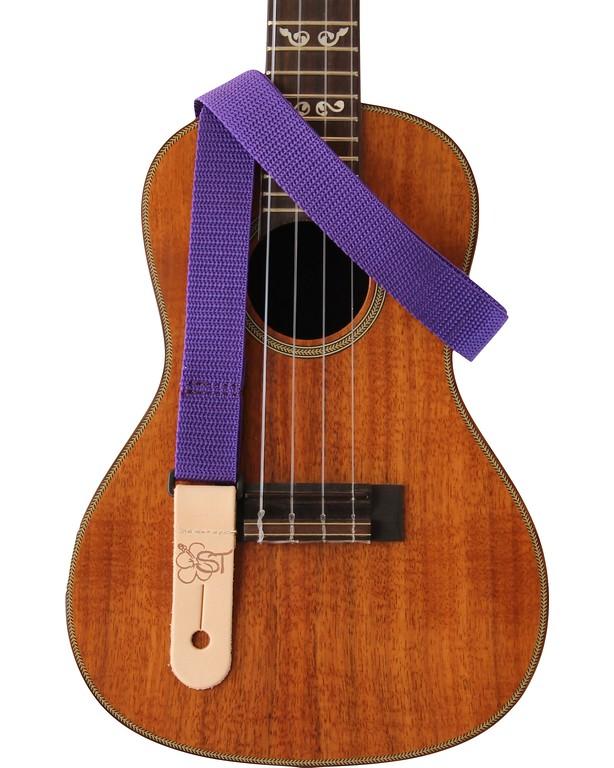 "Purple 1"" Uke Strap"